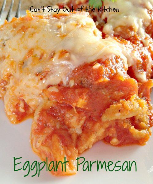 Eggplant Parmesan - IMG_2014