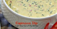 Espinaca Dip | Can't Stay Out of the Kitchen | wonderful Jose Pepper's Grill and Cantina #copycat recipe. This amazing #appetizer is great for #tailgating parties or #holiday entertaining. #Tex-Mex #cheese #spinach