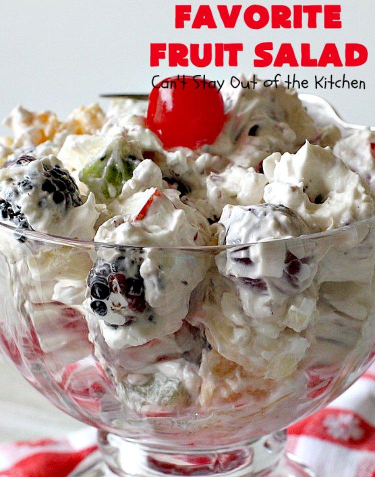 Favorite Fruit Salad