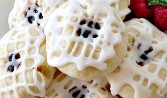 Four Berry Thumbprint Cookies