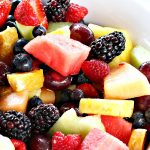 Fresh Fruit Salad   Can't Stay Out of the Kitchen