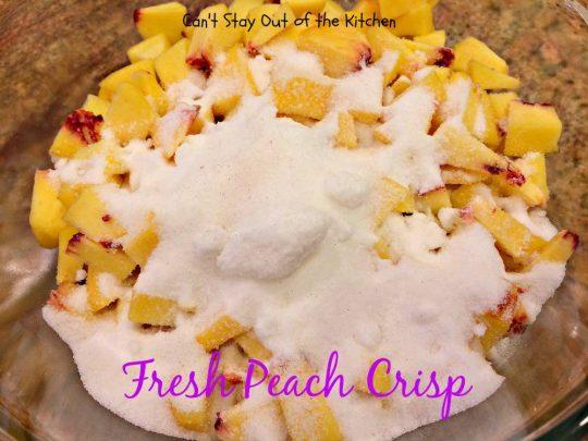 Fresh Peach Crisp - IMG_8314