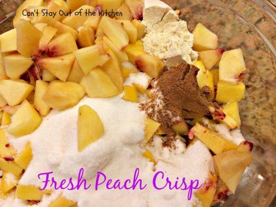 Fresh Peach Crisp - IMG_8317
