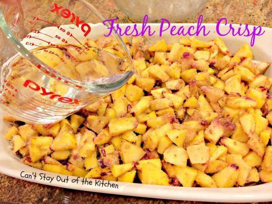 Fresh Peach Crisp - IMG_8320