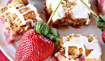 Fresh Strawberry Breakfast Cobbler