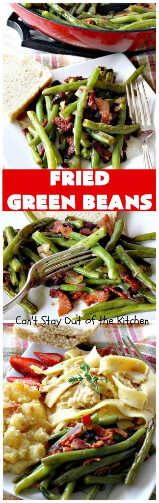 Fried Green Beans | Can't Stay Out of the Kitchen