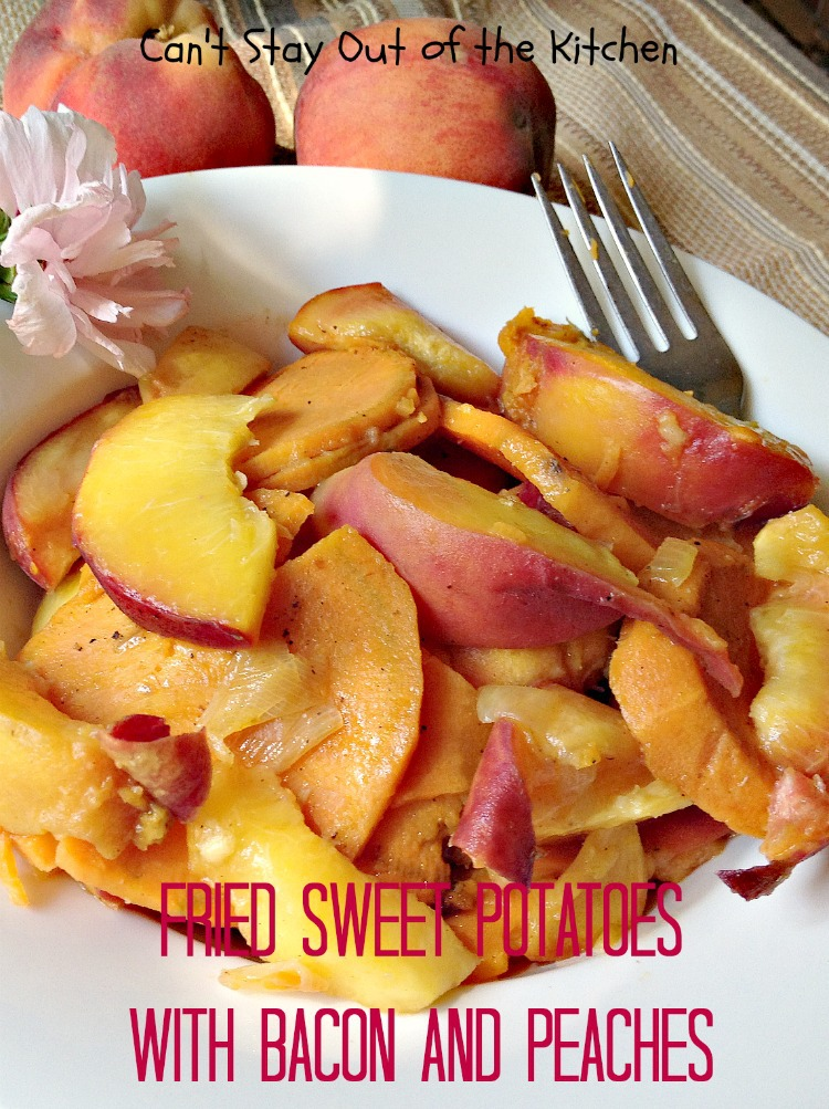 Fried Sweet Potatoes Can T Stay Out Of The Kitchen