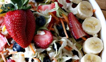 Fruit Cole Slaw