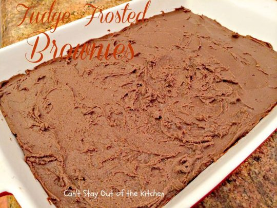 Fudge Frosted Brownies - IMG_0951