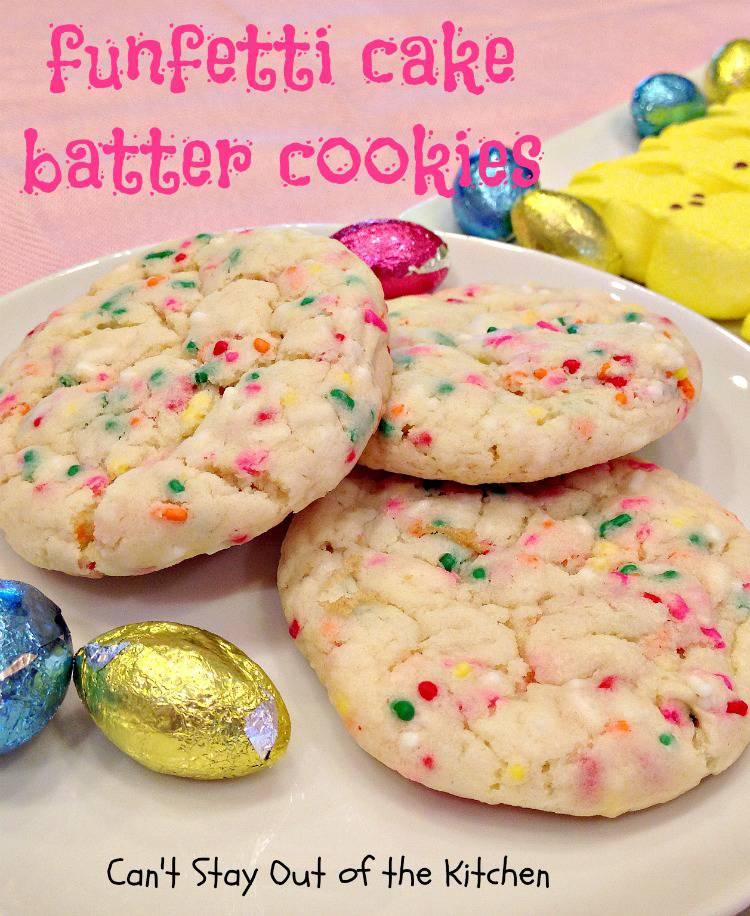 Betty Crocker Funfetti Cake Mix Cookies
