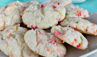 Funfetti Gooey Butter Cookies