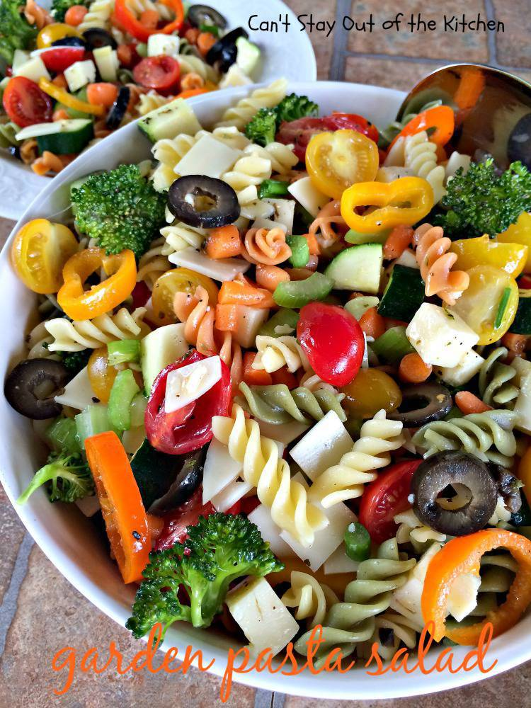 ... salads salad dressings side dish veggies garden pasta salad garden