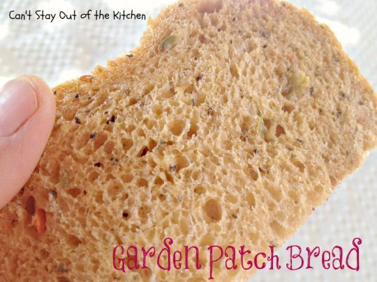 Garden Patch Bread - IMG_9770