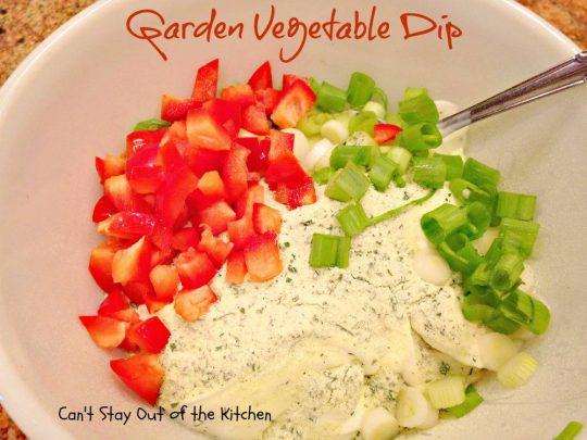Garden Vegetable Dip - IMG_3195
