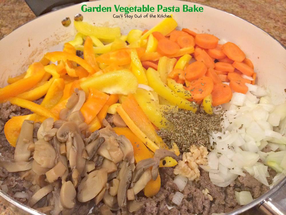 Vegetable pasta bake recipe easy