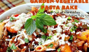 Garden Vegetable Pasta Bake
