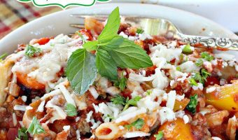 Garden Vegetable Pasta Bake