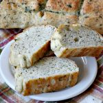 Garlic Herb French Bread | Can't Stay Out of the Kitchen