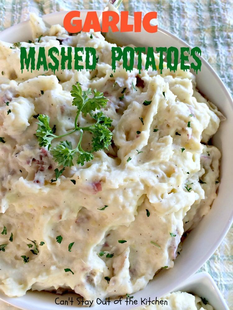 Garlic Mashed Potatoes Recipe Dishmaps