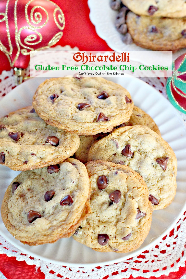 Ghirardelli Gluten Free Chocolate Chip Cookies - Can't Stay Out of ...