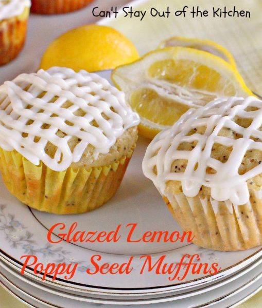 Glazed Lemon Poppy Seed Muffins - IMG_0410