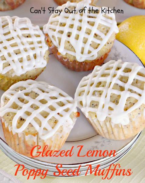 Glazed Lemon Poppy Seed Muffins - IMG_0422
