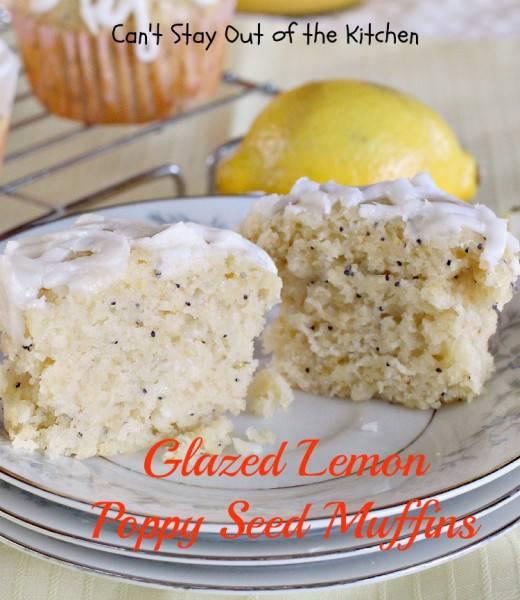 Glazed Lemon Poppy Seed Muffins - IMG_0469