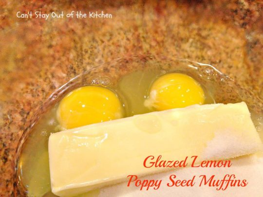 Glazed Lemon Poppy Seed Muffins - IMG_5100