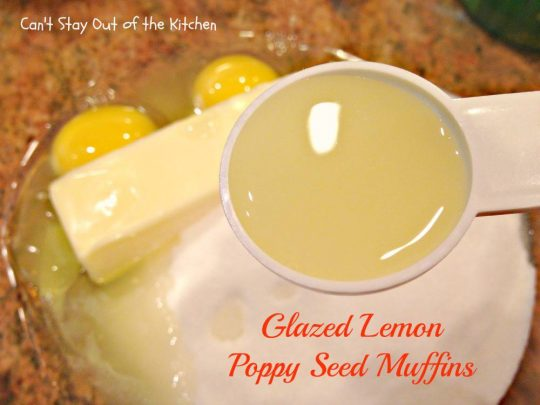 Glazed Lemon Poppy Seed Muffins - IMG_5101