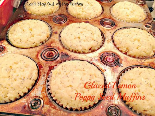 Glazed Lemon Poppy Seed Muffins - IMG_5115