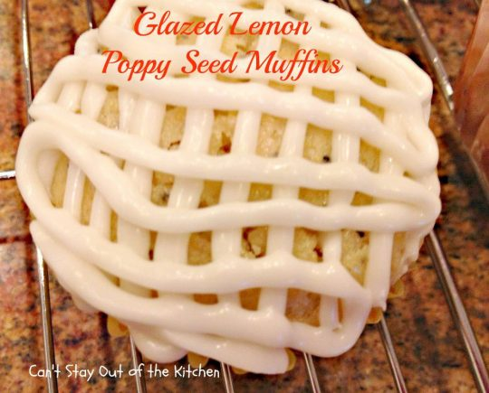 Glazed Lemon Poppy Seed Muffins - IMG_5120