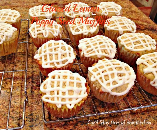 Glazed Lemon Poppy Seed Muffins - IMG_5121