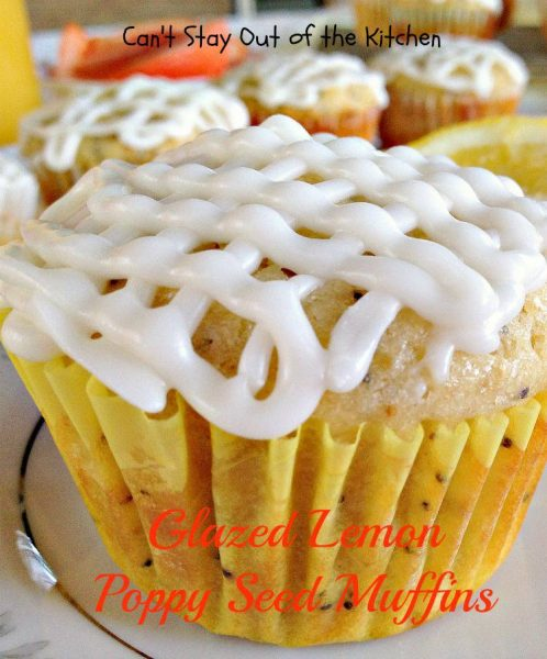 Glazed Lemon Poppy Seed Muffins - IMG_5129