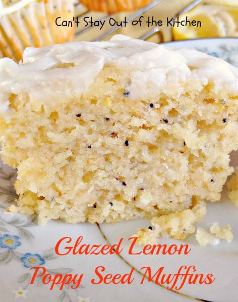 Glazed Lemon Poppy Seed Muffins - IMG_5227