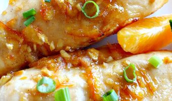 Glazed Orange Marmalade Chicken