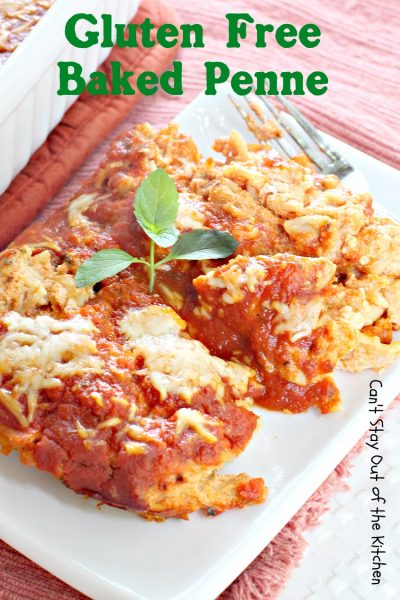 Baked Penne With Italian Sausage Can T Stay Out Of The