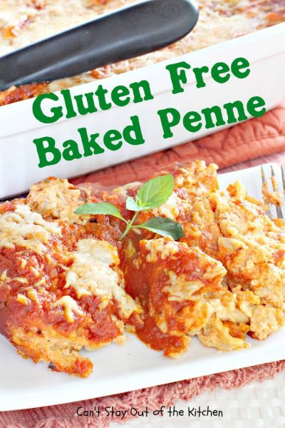 Gluten Free Baked Penne - IMG_0010.jpg