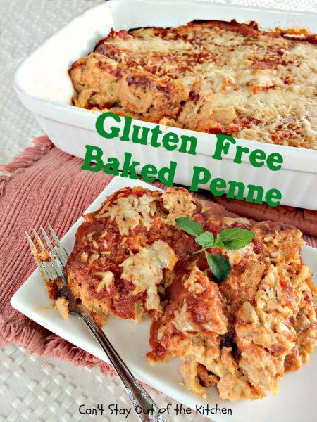 Gluten Free Baked Penne - IMG_5862.jpg