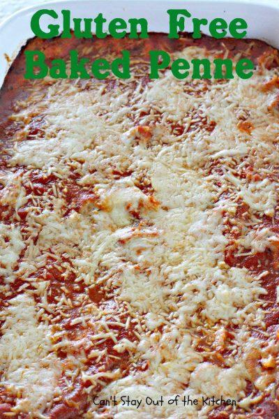 Gluten Free Baked Penne - IMG_9997.jpg