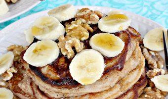 Gluten Free Banana Bread Pancakes