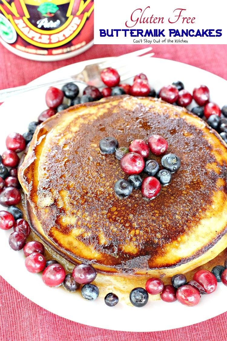 you want a gluten free pancake recipe, Gluten Free Buttermilk Pancakes ...