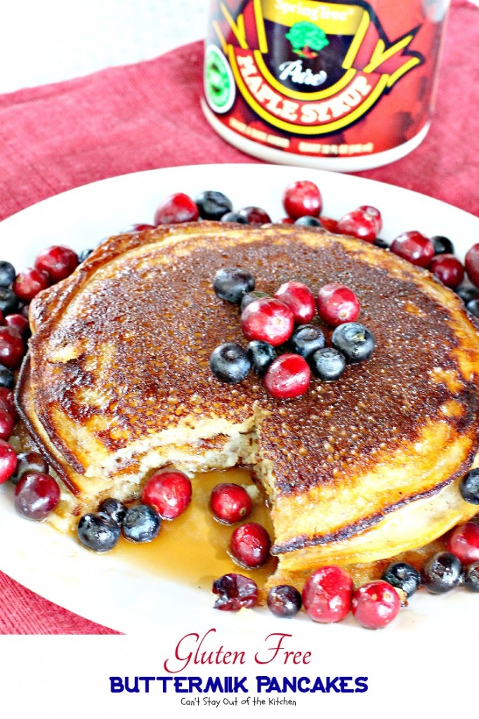 Gluten Free Buttermilk Pancakes | Can't Stay Out of the Kitchen ...
