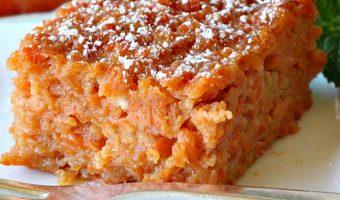 Gluten Free Carrot Souffle
