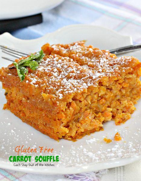 Gluten Free Carrot Souffle - IMG_6065