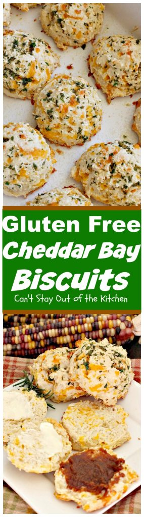 Gluten Free Cheddar Bay Biscuits | Can't Stay Out of the Kitchen | these #copycat #RedLobster #CheddarBayBiscuits are awesome! Loved this #glutenfree version. Great for a #holiday #breakfast too. #biscuits