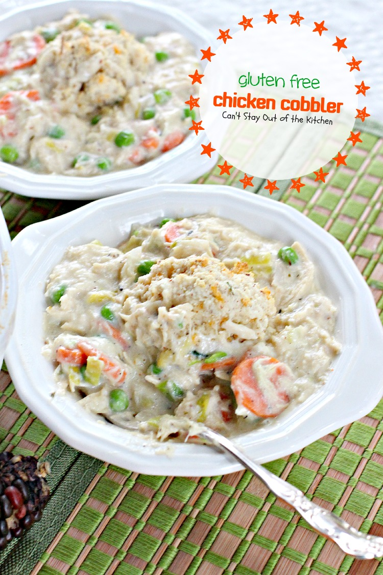 Gluten Free Chicken Cobbler