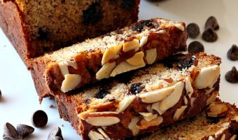 Gluten Free Chocolate Chip Almond Bread