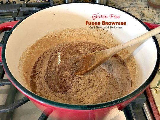 Gluten Free Fudge Brownies | Can't Stay Out of the Kitchen | delicious alternative to #brownies that's rich, decadent and fudgy! #chocolate #dessert