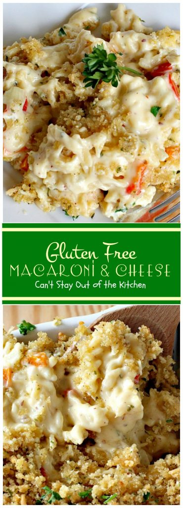 Gluten Free Macaroni and Cheese | Can't Stay Out of the Kitchen