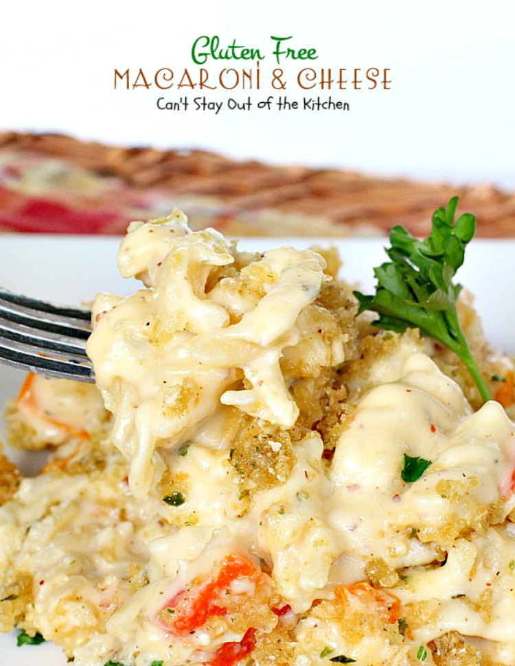 gluten free macaroni and cheese is one of the most awesome mac cheese ...